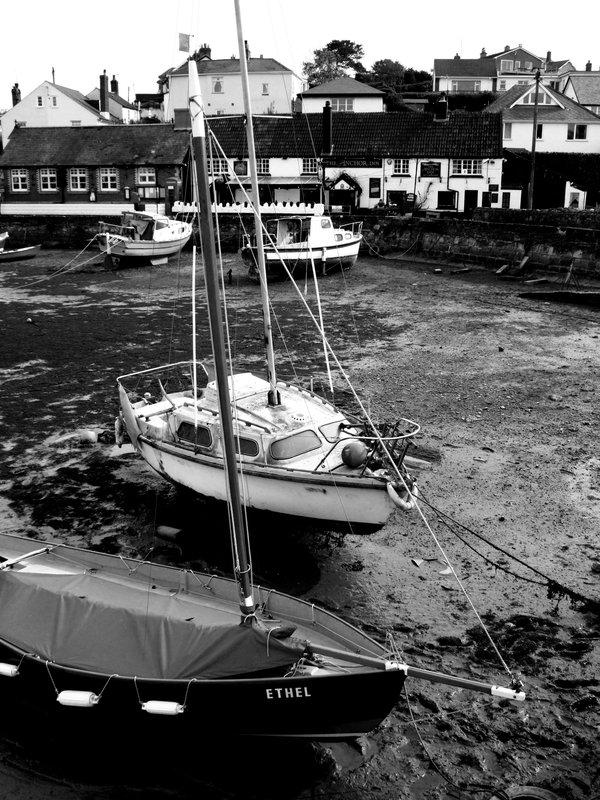 The Anchor Inn at Cockwood across the harbour, near Starcross, Devon