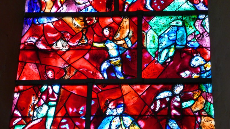 Marc Chagall - 'In Praise of God', Chichester Cathedral