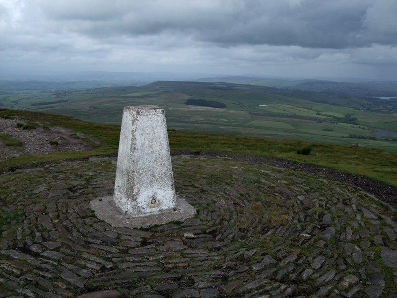Pendle Hill summit, Lancashire