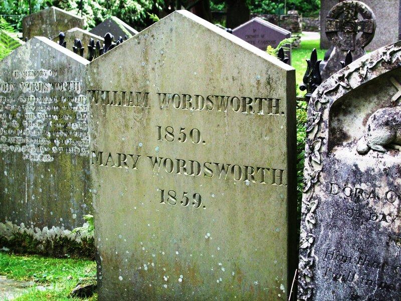Grave of the poet, William Wordsworth- Grasmere Parish Churchyard (Cumbria)