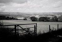 Bishopsteignton looking towards Dartmoor