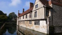 Ightham Mote in mid-October