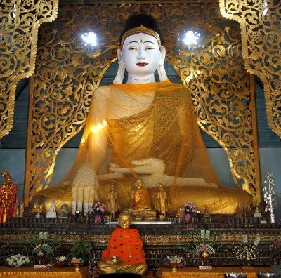 Buddha at Wat Chong Kam