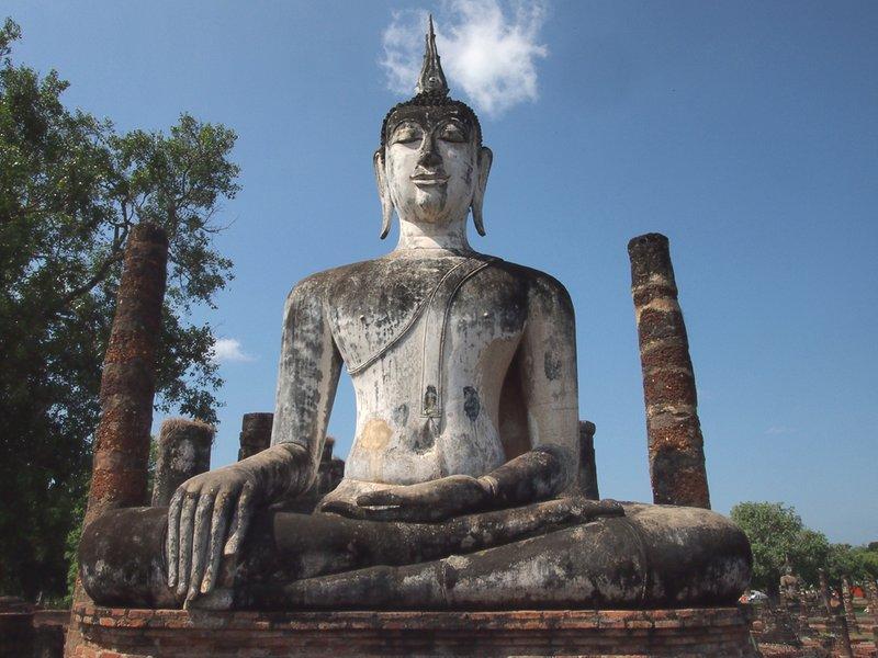 Large Buddha at Wat Mahathat
