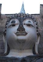 Head of Buddha at Wat Si Chum