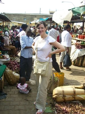 Angela in Mbarara market