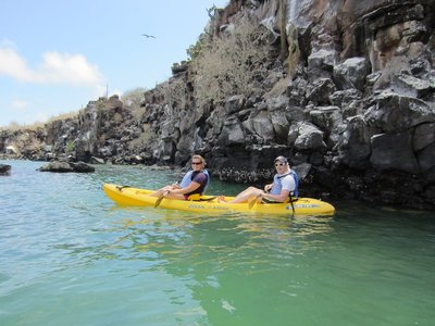 Kayaking at Santa Cruz