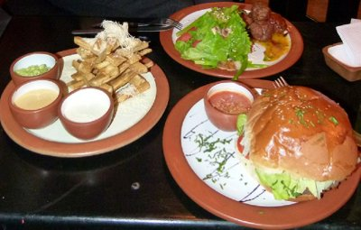 28. CUSCO Biggest burger, tastiest meatballs and most interesting Yucca fries