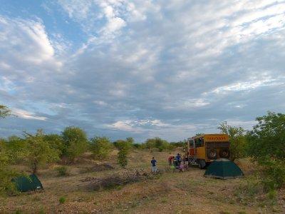 2 First bush camp, Mozambique