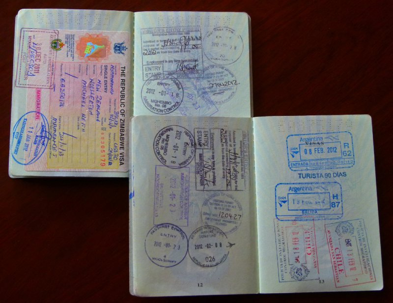 4. A few good stamps