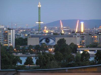 the evening (Vienna's eye & Prater park)