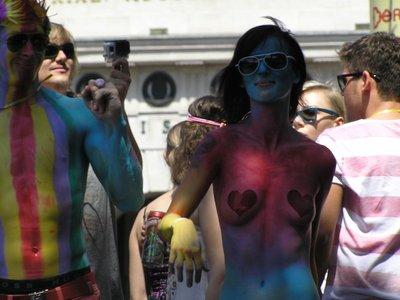 Gay Parade in Vienna