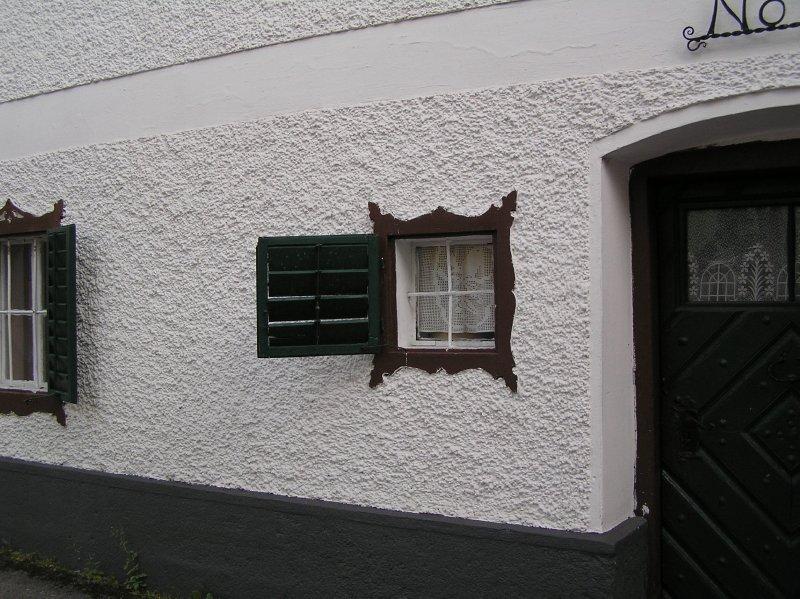 AU_Bad Ischl - window in house no 15