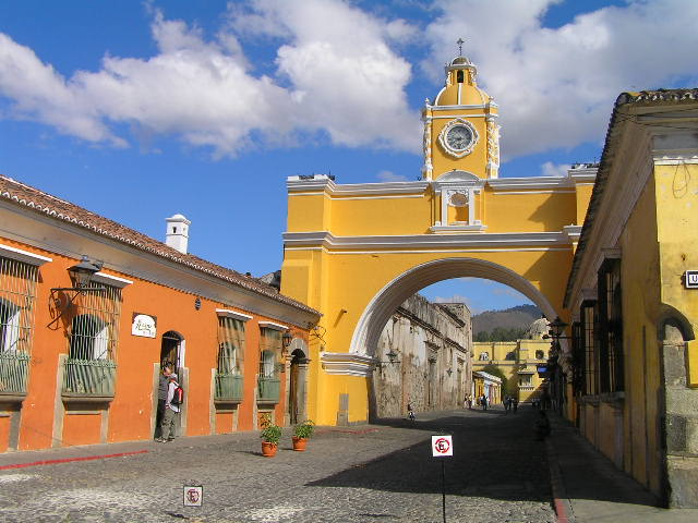 GUATEMALA - Antigua - center