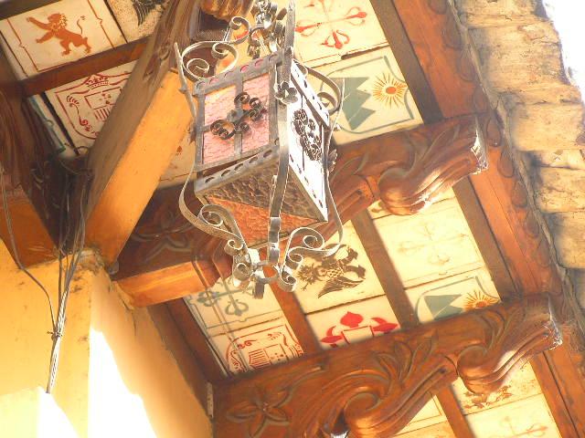 GUATEMALA - Antigua - decoration