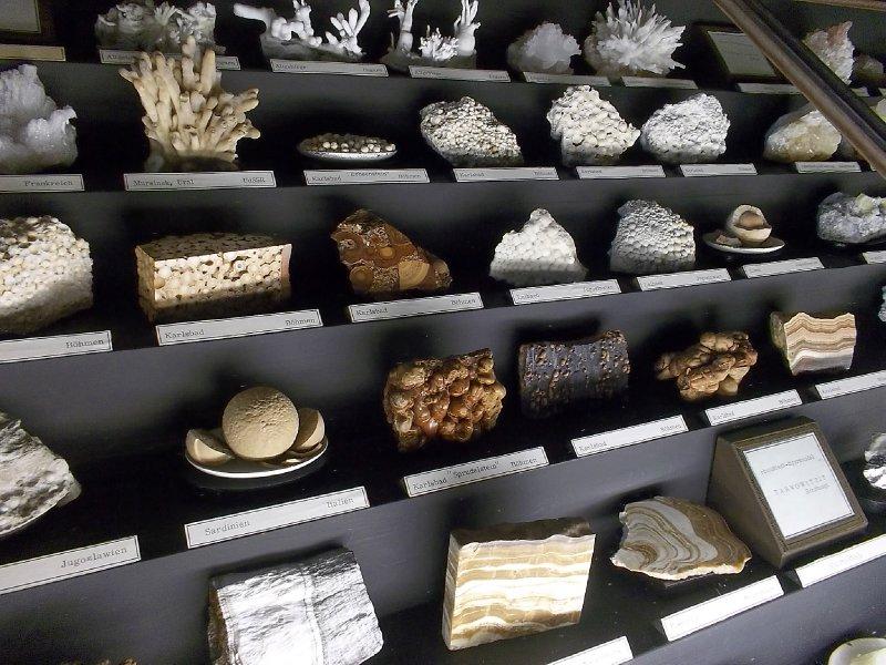 Vienna_NHM - stones & corals