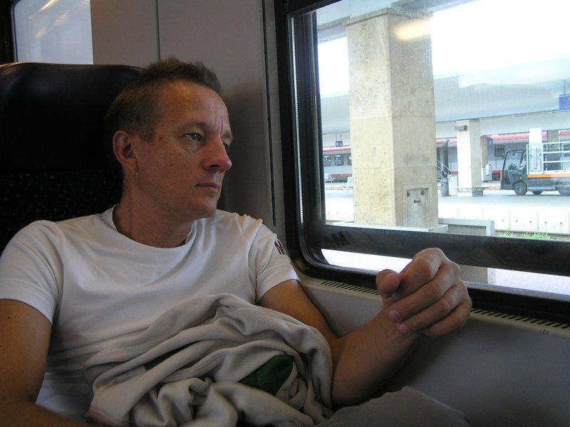 VIENNA_Andre in train