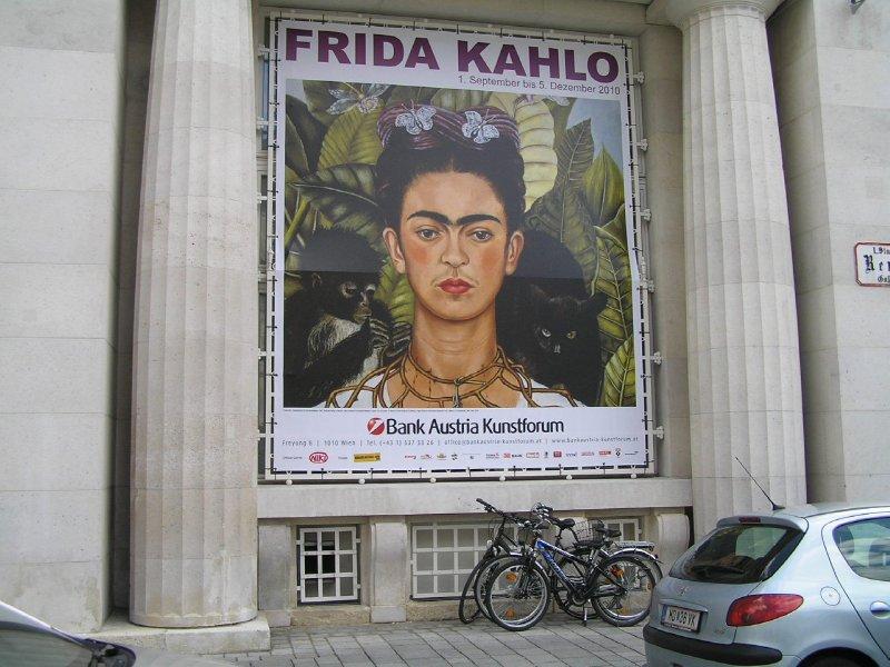 Frida Kahlo - Exhibition in Vienna