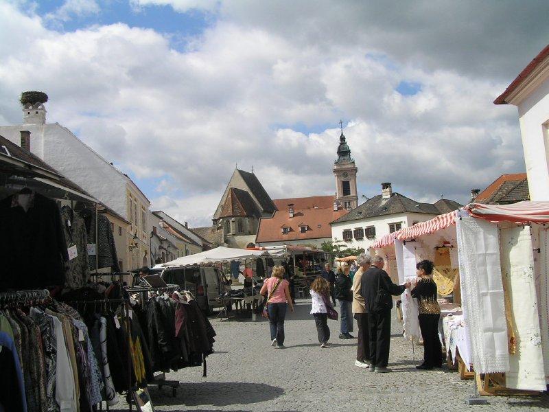 AUSTRIA_Rust - market day (unfortunatelly)