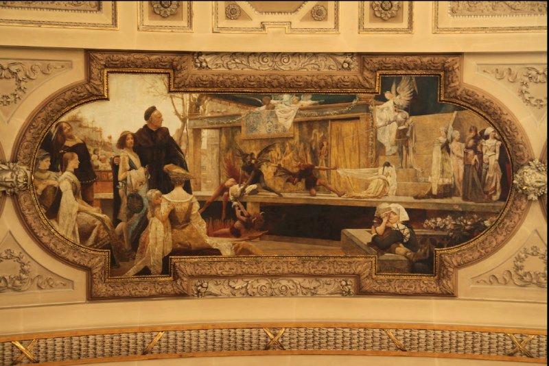 AU_Burgtheater Wien - ceiling details
