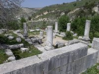 Israel_ruins of antique sinagogue in Galilee