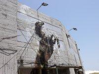 Graffity in Jaffa Harbour (Tel Aviv, Israel)