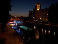 AUSTRIA_Vienna - swimming pool barge