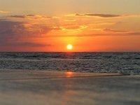 HONDURAS - Caribbean sunset