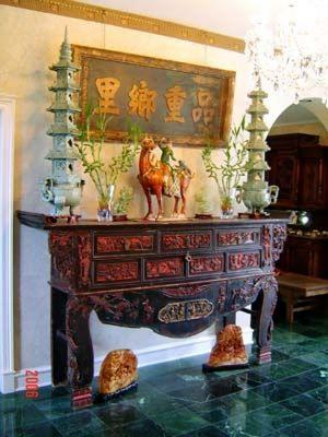 Royal's Chinese Antique Furniture Shop in Shanghai China