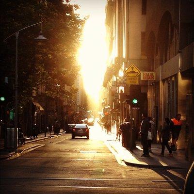 Melbourne's Own Manhattanhenge