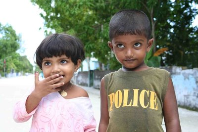 Local children, Maldives