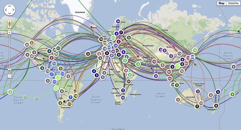 ThoiryK's travel map