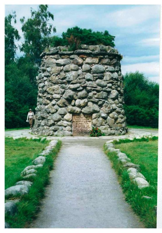 Culloden battle mamorial