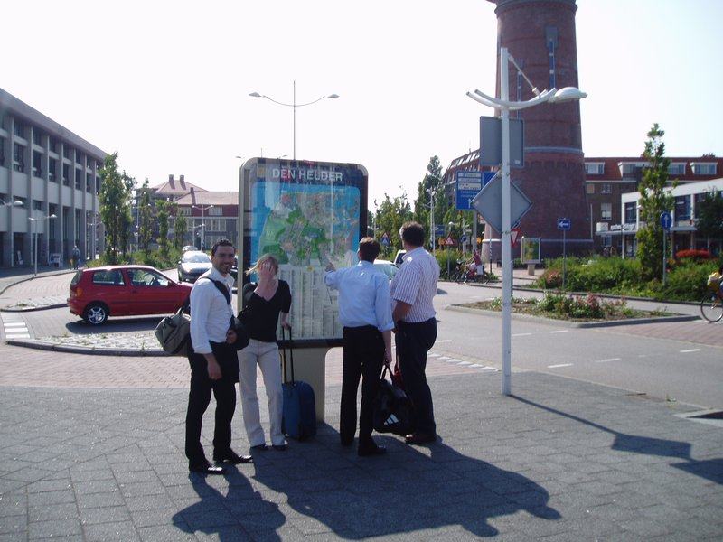 Den Helder map reading