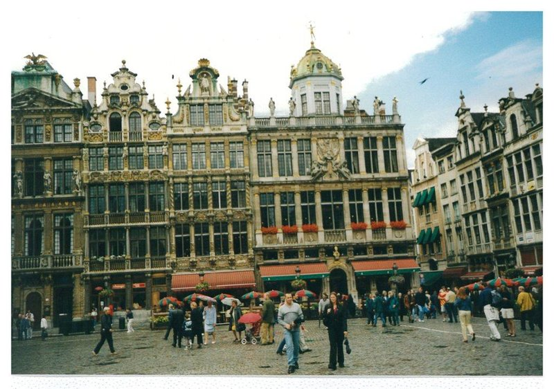 Brussles main square