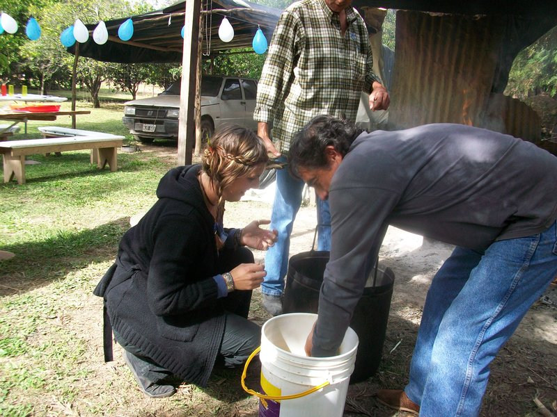 cooking humitas in salta