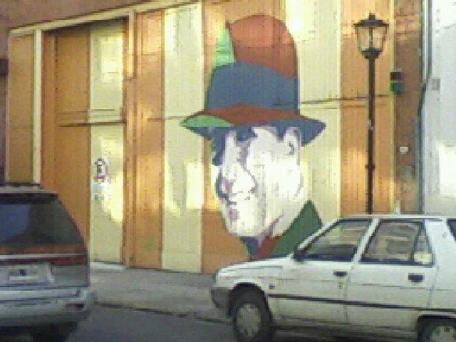 Carlos Gardel en el Abasto