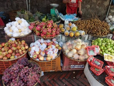 Morningmarket, Luang Prabang