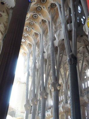 Basilica De La Sagrada Familia interior