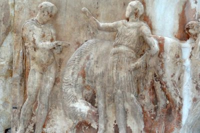 Marble Relief from the Parthenon