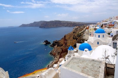 Three Churches of Oia
