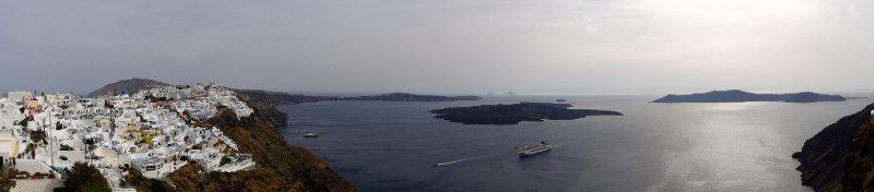 Fira and the caldera