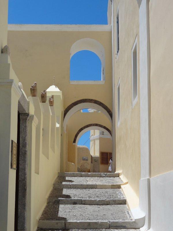 Arches in Fira