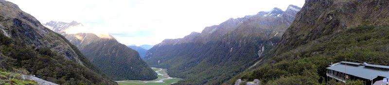 Routburn Falls Hut View