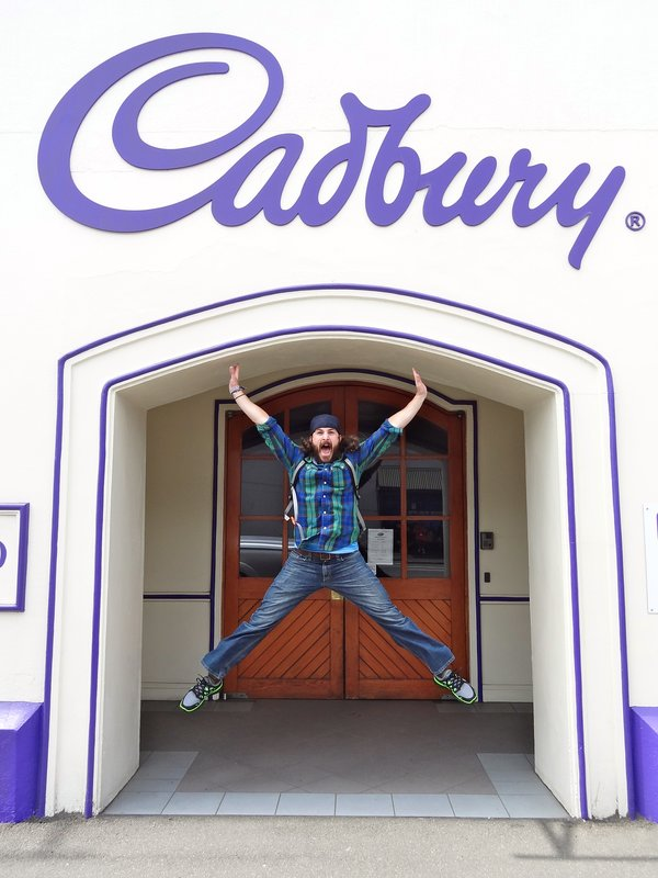 Cadbury, get excited!