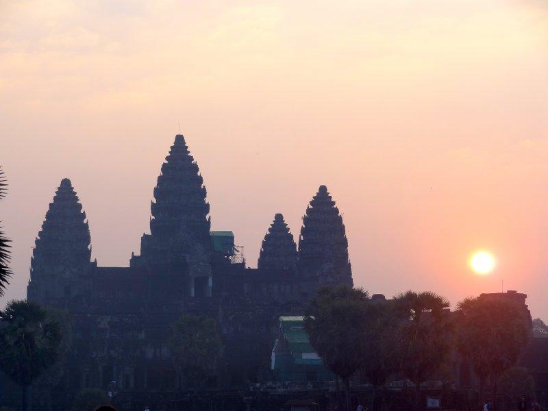 Sunrise at Angkor Wat I