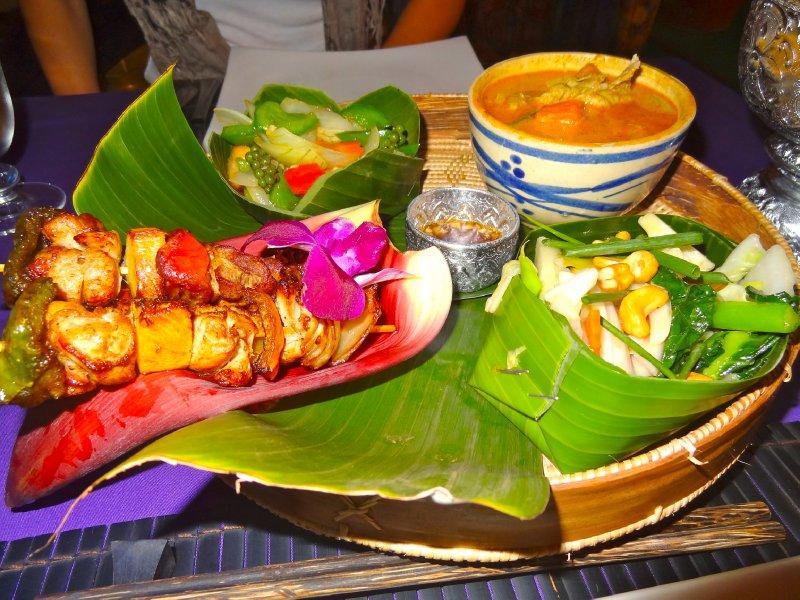 Cambodia Traditional Spread