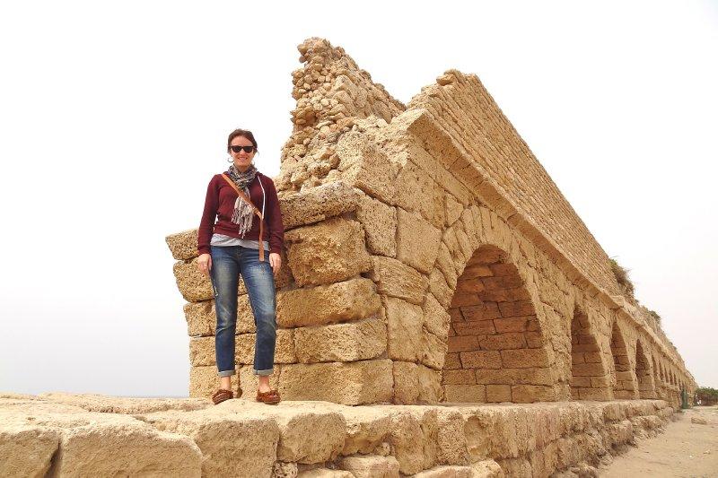 McKenna at the Aqueduct