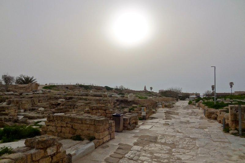 Sun over Caesarea