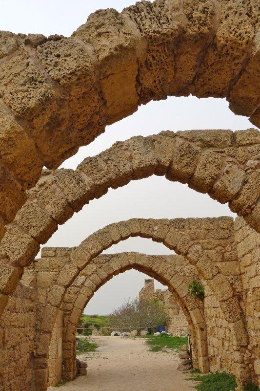 Arches at Caesarea